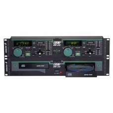 DJ DOUBLE CD PLAYER WITH PITCH CONTROL BST CDD 236